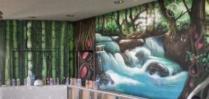 mural-surrealista-cascada