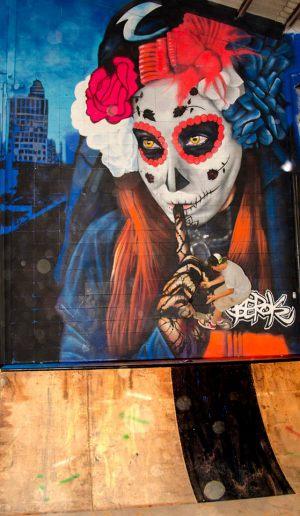 graffiti-catrina