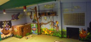 decoracion-parque-infantil-Espai-Magic-en-Sant-Fruitos