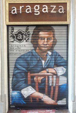 Decoracion-mural-sobre-persiana-aragaza