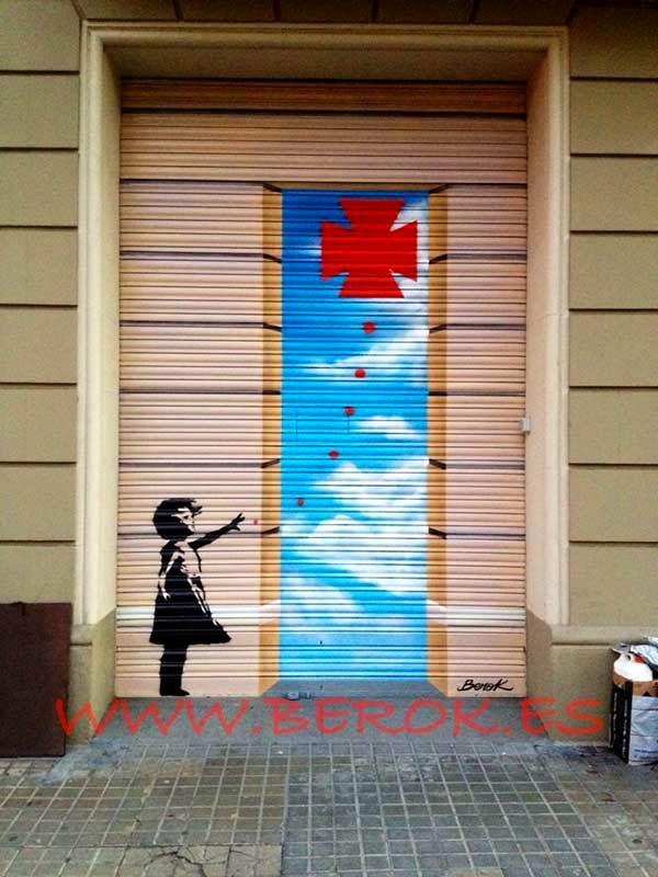 Berok graffiti profesional barcelona resultados de b squeda - Decoracion farmacias ...