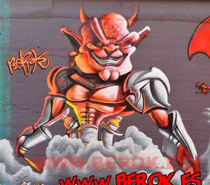 graffiti-demonio