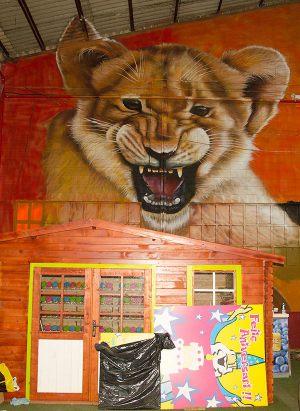 Mural-leon-XXL