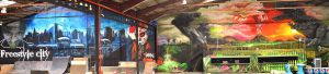 mural-XXL-Green-park-Indoor-Granollers