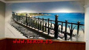 graffiti balcon del Mediterraneo Tarragona