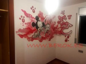 graffiti infantil disney zoe