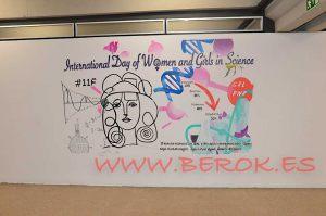 mural uab dia internacional mujer ciencia