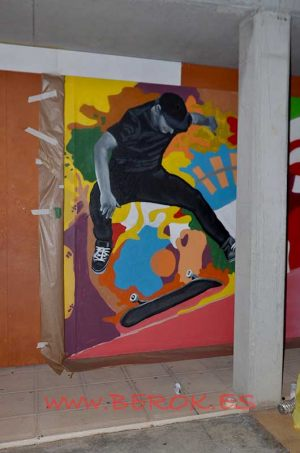 graffiti espai jove cunit skater