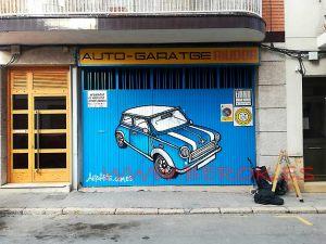 graffiti taller mini Vilanova