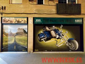 graffitis persianas motor