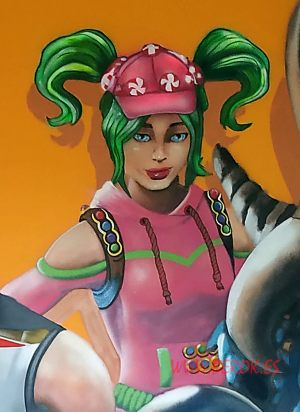graffitis fortnite zoey Skin
