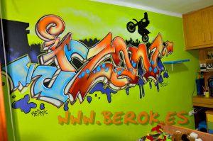 graffiti_habitacion_letras_izan