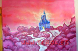 mural_infantil_castillo_princesas