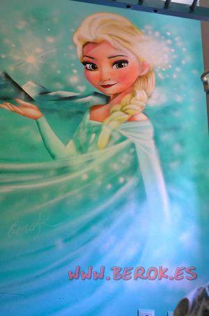 murales_infantiles_Frozen