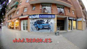 graffitis persianas Barcelona