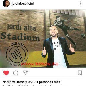 graffiti Jordi Alba