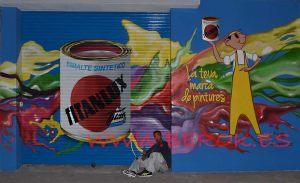 pinturas corbacho mural Titanlux