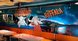 graffiti buffala