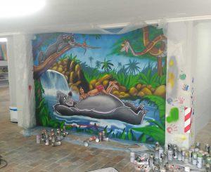 mural-libro-de-la-selva