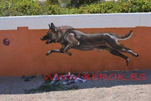 graffiti-pastor-aleman-perro