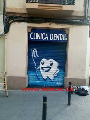 graffiti-persiana-clinica-dental