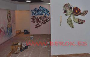 graffiti-tortuga-bebe-nemo