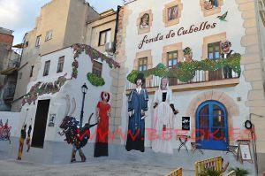 mural trampantojo Cubelles fiesta mayor