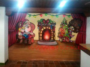 pintura-mural-navidad-torrons-vicens