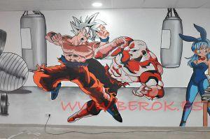 Decoracion Murales Y Graffitis Juveniles Barcelona