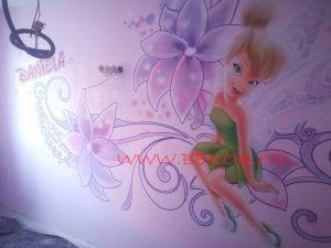 pintura mural campanilla Daniela