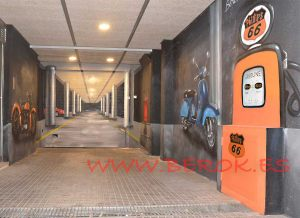graffitis 3d parking