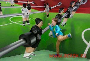 3d graffiti futbolín