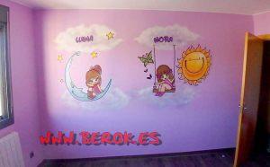 Decoración Graffiti Profesional habitaciones niñas