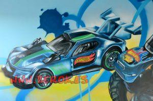 mural-coche-hotwheels