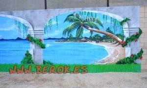 mural-playa-trampantojo