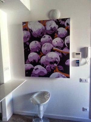 Decoracion-mural-apartamentos-uvas