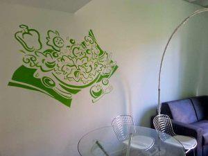 Decoracion-mural-apartamentos-verde