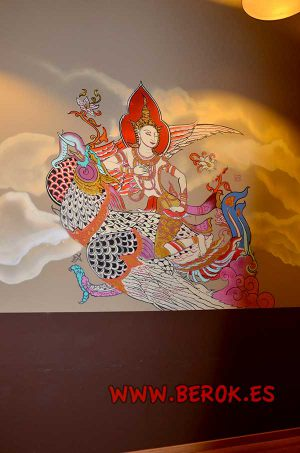 graffiti-mural-wind-angel-thai-art-tigermyuou