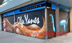 graffiti-persiana-peluqueria