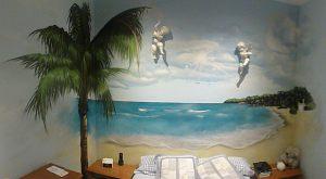 mural-dormitorio-caribe