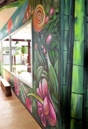decoracion-mural-plantas