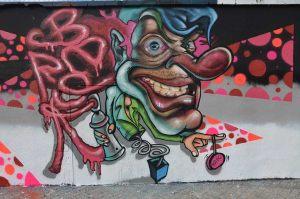 graffiti-character
