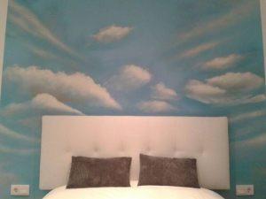 decoracion-mural-cielo-cabecero-matrimonio