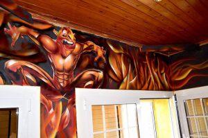 mural-comedor-terror