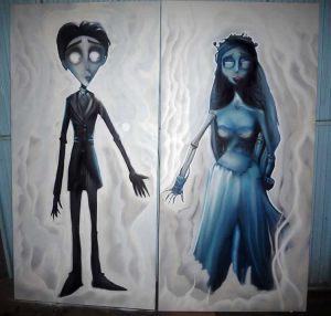 cuadros-graffiti-la-novia-del-cadaver
