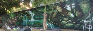mural-cascada-realista-discoteca-atlantida