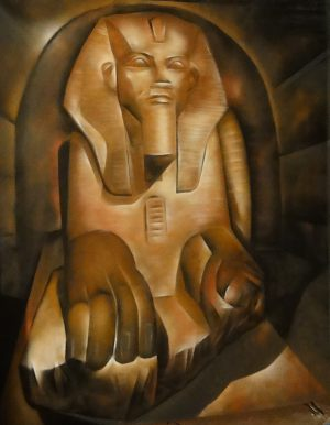 faraon-mural
