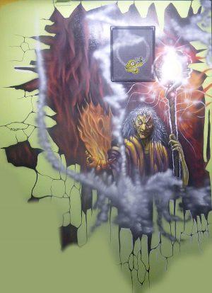 fire-demon-graffiti