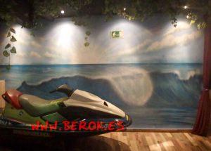 graffiti moto surf photocall