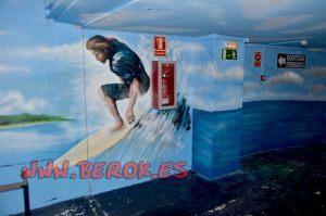 graffiti surfista